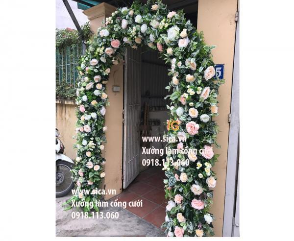 Chỗ bán cổng hoa đám cưới lớn nhất TPHCM