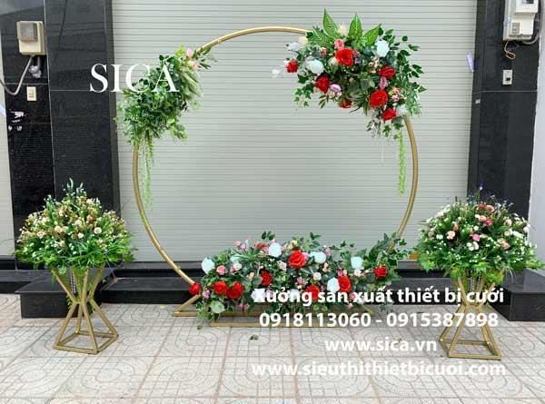 Xưởng làm cổng hoa cưới mới đẹp nhất