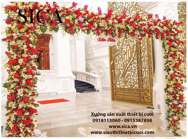 Nơi bán cổng hoa đám cưới sĩ và lẻ