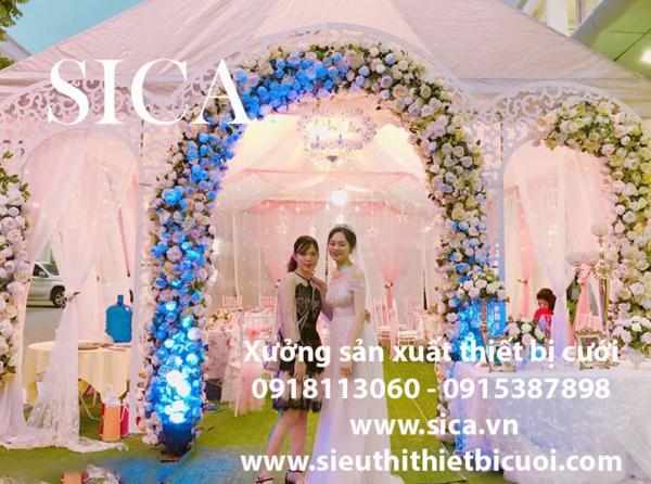 Nơi thiết kế bán cổng cưới theo yêu cấu