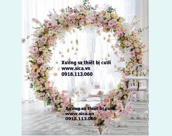 Cung cấp mua bán cổng hoa đám cưới đẹp nhất
