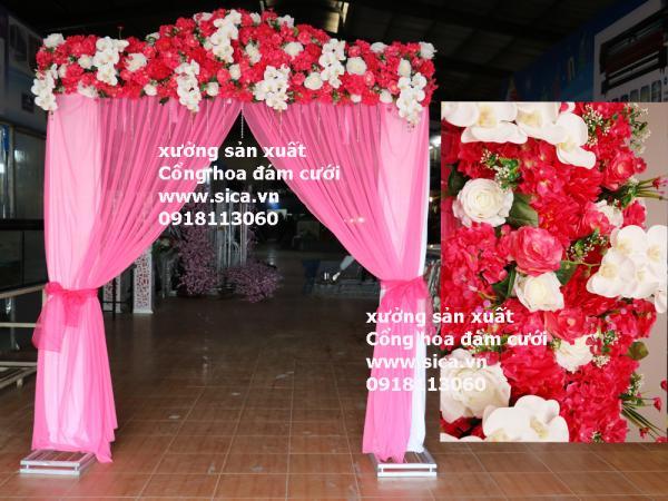 Mua bán các loại Cổng hoa đám cưới
