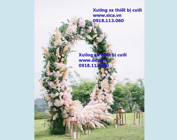 Điểm bán cổng hoa đám cưới lớn nhất sài gòn