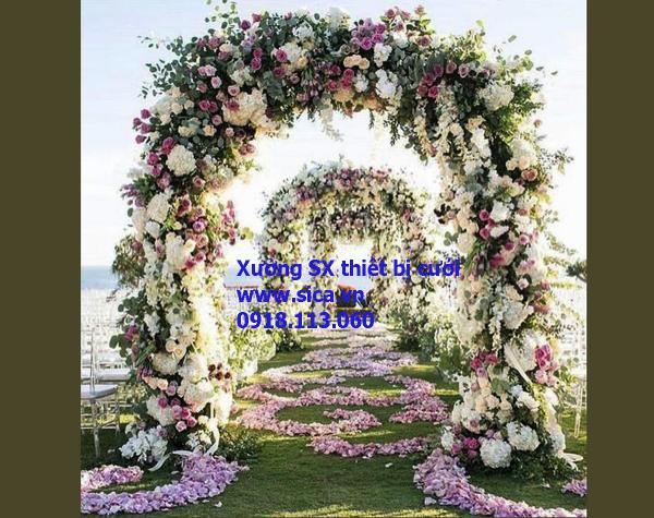 Nơi mua bán cổng hoa đám cưới đẹp nhất, mới nhất