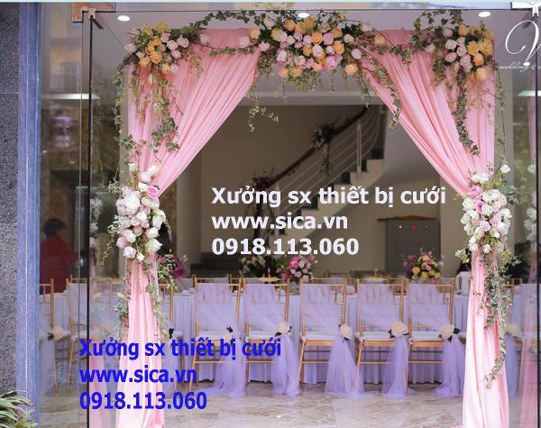 Mua bán, cung cấp cổng hoa đám cưới mẫu mới
