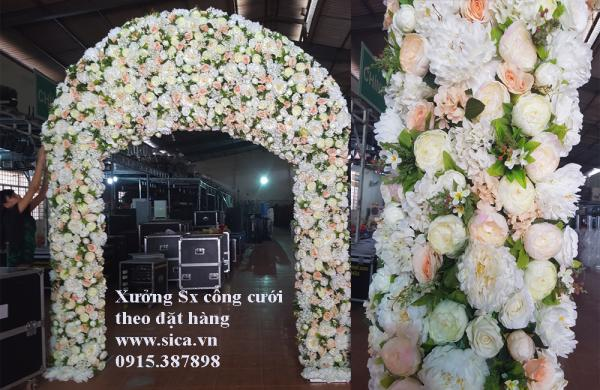 Sản xuất bán cổng hoa đám cưới độc đáo