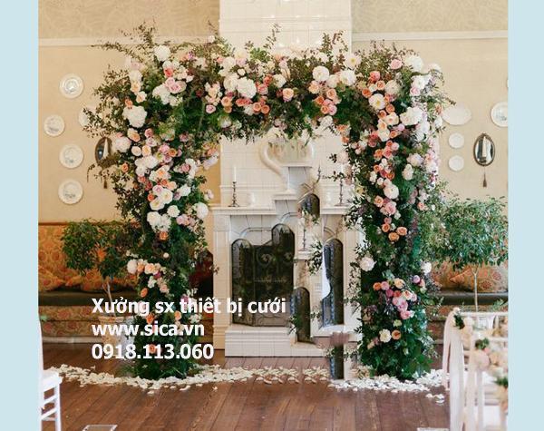 Nơi bán cổng hoa mới đẹp, phong cách sang trọng