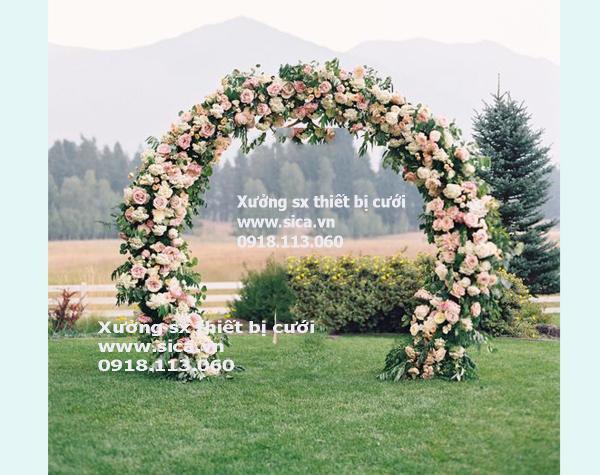 Mua bán cổng hoa đám cưới, mới đẹp lạ
