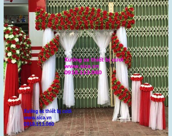 Cung cấp mua bán cổng hoa cưới