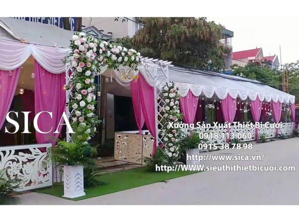 Nơi sản xuất bán cổng cưới giá rẻ