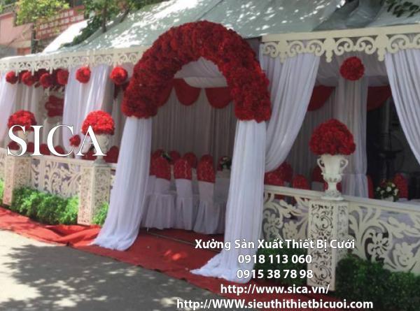 Địa chỉ bán cổng hoa cưới mới nhất