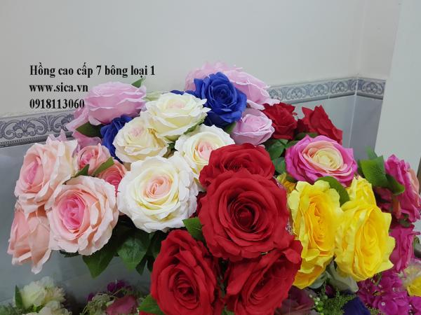 Hoa hồng 7 bông loại 1