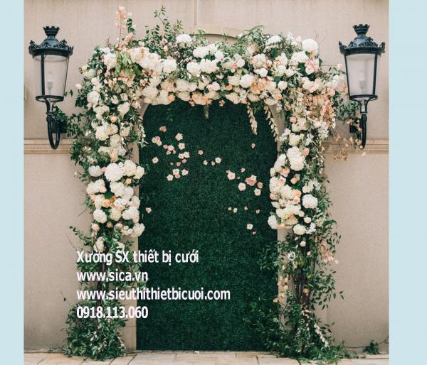 Nới bán cổng hoa cưới mới đẹp nhất