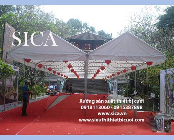 Chuyên sản xuất bán khung sườn rạp cưới