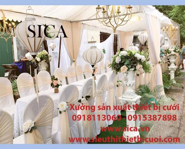 Xưởng bán rạp cưới và rèm màn