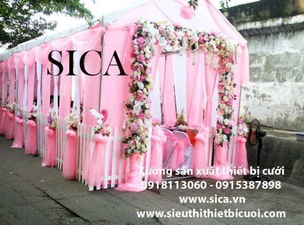Địa chỉ bán rạp đám cưới lớn nhất tên toàn quốc