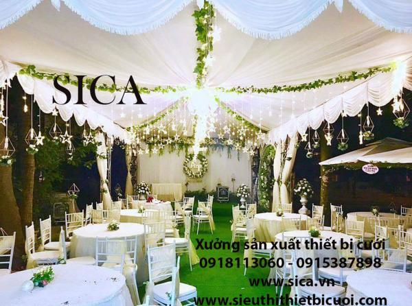 Cần mua rạp cưới mới nhất có tại Sica.vn