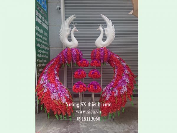 Cung cấp bán cổng chim công thiên nga cưới