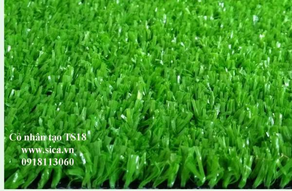 Mua bán thảm cỏ nhân tạo, cỏ sân banh S18