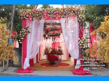 Nơi sản xuất cổng hoa đám cưới đẹp