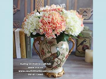 Hoa Giả Phong cách Châu Âu - Cẩm tú cầu