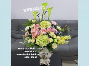 Bình Hoa Lụa đẹp Cao Cấp