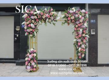 Cổng hoa cưới đẹp mới nhất đẹp nhất