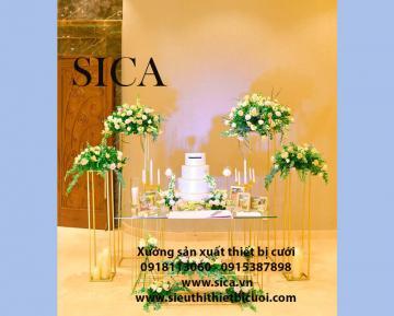 Nơi bán đôn chân hoa trang trí đám cưới