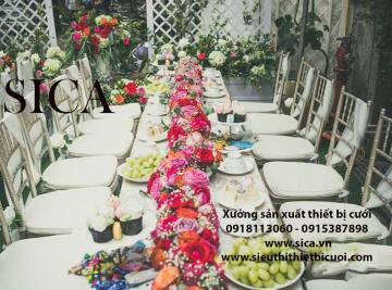 Mua bán bàn ghế trang trí gia tiên đám cưới