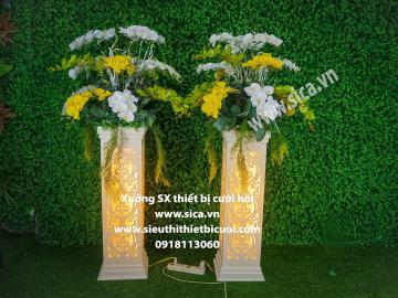 Sản xuất cung cấp trụ hoa, đôn hoa đẹp