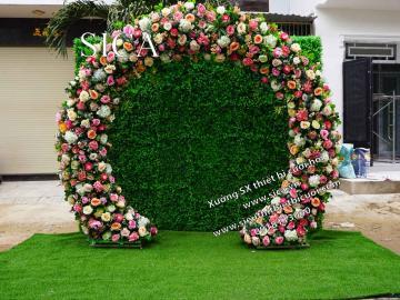 Cổng vòm hoa cưới đẹp