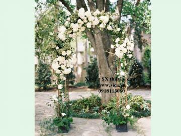 Cổng cưới mẫu mới lạ đẹp
