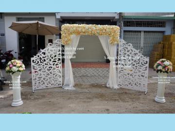 Bán cổng hoa cưới thiết kế mới lạ
