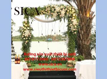 Bán cổng cưới đơn giản tự nhiêu nhất