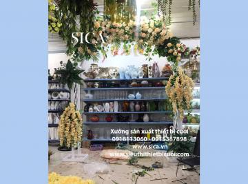 Nơi bán cổng hoa cưới đơn giản