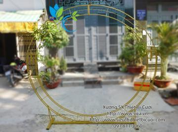 Giá bán khung sườn cổng hoa cưới mới đẹp