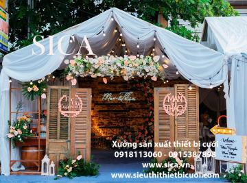 Nơi bán rạp đám cưới giá rẻ