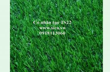 Mua bán thảm cỏ nhân tạo, cỏ sân banh S22